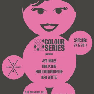 Jem Haynes @ Club Zur Heilen Welt Colour Series party in Zurich 28th Dec 2013