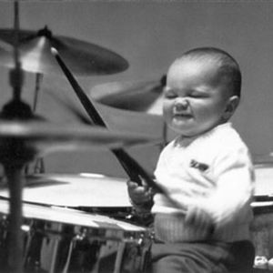 Small Kid Drummer