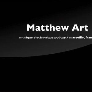 Matthew Art/  musique électronique podcast/ marseille, france