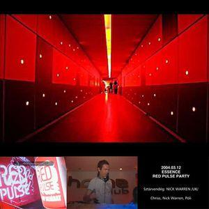 Essence - Red Pulse - Nick Warren,Chriss,Pöli@Home Club Budapest 2004.03.12. Part I.