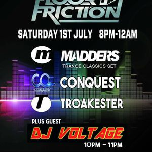 Dj Voltage Floor Friction Guest Mix Live On Radio Saltire 1-7-2017 FREE DOWNLOAD