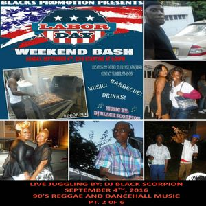 Black Promotions Labor Day Weekend Bash - Music By DJ Black Scorpion 9-4-16 PT. 2 of 6
