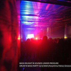 Saverios monday ragga jungle drum n bass mix 1/11/10 - Sounds Under Pressure 01