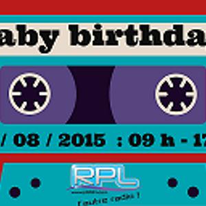 gaby birthday : 09h - 10 h