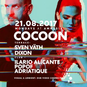 Popof - Live at Cocoon, Amnesia (Ibiza) - 21-Aug-2017