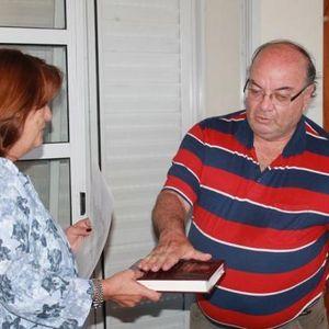 GABRIEL BUFFONI  INTENDENTE electo Ayer en CAPILLA del MONTE x renuncia del INTENDENTE ANTERIOR