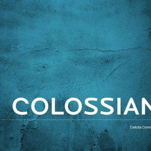 Colossians - Week 1 - Audio