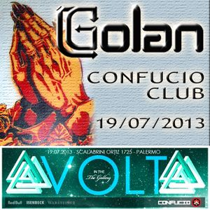 DJ Golan @ Confucio Club - VOLT (19-07-2013)