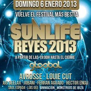 HECTOR ENGLI @ SUNLIFE REYES FESTIVAL at GLOOBAL cLuB (6ENERO2013)
