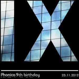 Soho - Phonica 9th Birthday Promo Mix (Nov 2012)