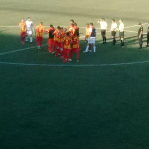 1er tpo de la Victoria de Boca Unidos sobre Villa Dálmine por 3 a 1