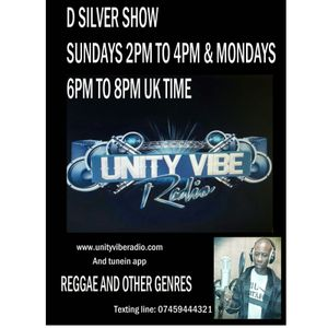 D Silver Show Live From Grenada on Unity Vibe Radio Based in London  03 July 2016