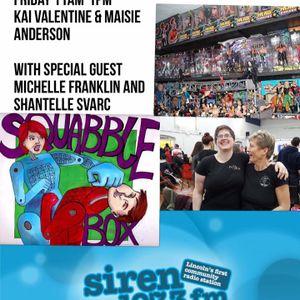SquabbleBox (05.02.16) - with GB Powerlifter Michelle Franklin & Darkside Training Shantelle Svarc