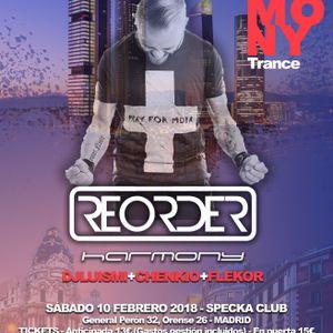Flekor_Live_13rd_anniversary_harmony_Trance@Specka_Madrid_10_feb_2018