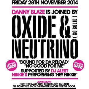 NATIONAL ANTHEMS PROMO MIX 1 28TH NOVEMBER 2014 WITH OXIDE & NEUTRINO