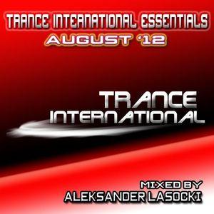 Trance International Essentials - August '12 (mixed by Aleksander Lasocki)