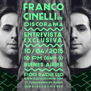 FRANCO CINELLI en DISCORAMA (parte 1)