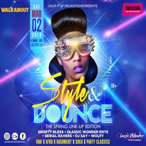 STYLE and BOUNCE PROMO, 2nd MARCH @ THE WALKABOUT – READING
