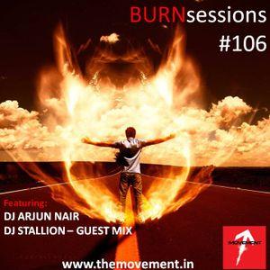 DJ ARJUN NAIR - BURN sessions #106 FIRE POWER Jan 2012