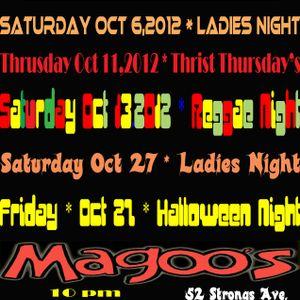 DJ MEGA LIVE AT MAGOOS - LADIES NIGHT - POP,HIP HOP AND MORE