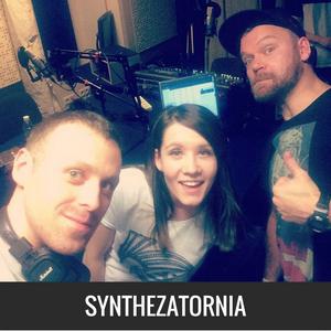 Zespół Cukierki w audycji Synthezatornia