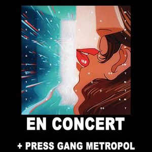 reportage mjc Picaud: Interviews des groupes Team Ghost et Press Gang Metropole! +prog de Mars