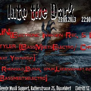 Charly Mylode, ThoHa & Marco Maeij - Spontan Event - Into Darkness  im Koyoten 23.08.2013 Afterhour
