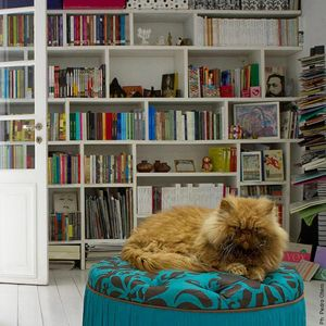 """12-7-2015  Nota a Nurit Kaaztelan, fundadora de """"Librería mi casa"""""""