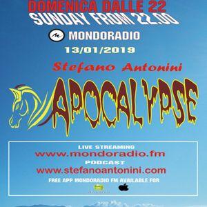 Apocalypse radioshow on Mondoradio 13/01/2019 episode#82 Stefano Antonini