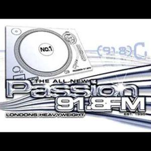 Passion 91.8 fm Steve Stritton 88-89 set 2003