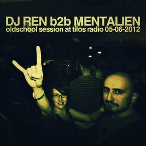 DJ Ren b2b Mentalien - Oldschool Session at Tilos Radio 05-06-2012