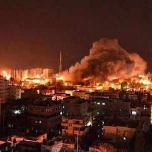Israel bajo bombardeo