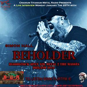 Cranium Titanium 20160125 Feat. Simon Hall Beholder Metal 2 The Masses