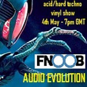 Jenny Wren Audio Evolution Vinyl Techno Show 078 (air date 04.05.18 on