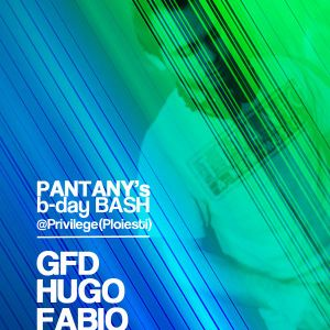HuGo - Live @ PANTANY's b-day BASH (Privilege/Ploiesti 12-01-2013)