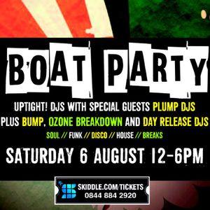 Uptight Boat Party Plump DJs MegaMix