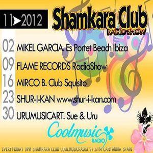 SHAMKARA CLUB RADIO SHOW NOVEMBER 2