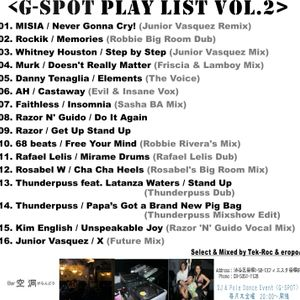 G-SPOT Play List Vol.2
