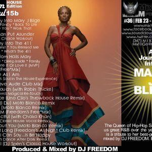 "DJ Freedom - Dance After Dark 12b (R&S15b) ""DJ Tribute To Mary J Blige"" (House Edition)"
