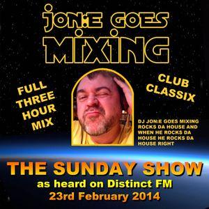JGM361: The Sunday Show (Distinct FM 23rd Feb 2014)