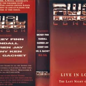 Randall & Kenny Ken w/ MC GQ  AWOL - Last Night at Paradise Club - December 1994