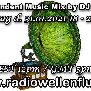 Independent Music Mix by DJ Nobby (31.01.2021)(www.radiowellenflug.de)