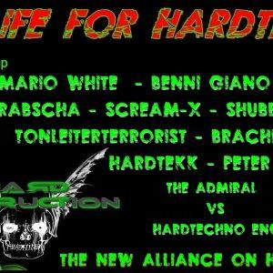 .Scream-X  @ Life for HardTechno 17.10.15