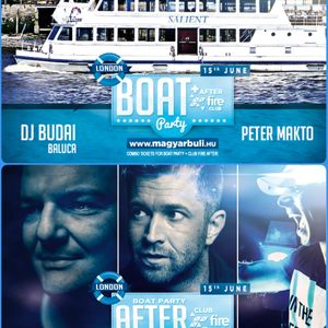 Budai @ Live Boat Party London 2019.06.15.