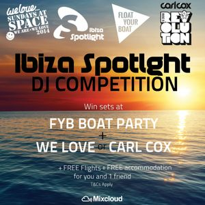 Ibiza Spotlight 2014 DJ competition- DJ Joan Casas