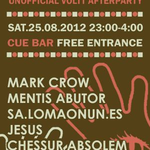 0x45 - sa.lomaonun.es - Sleepwalkers [unofficial] Voltt Afterparty @ CUE bar - 25-08-12