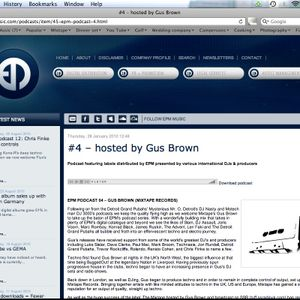 Gus Brown Mix_EPM Podcast 4
