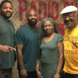 The Alvin Galloway Show (TAGS) DJ1 Period, DJ King Bem, Clottee Hammons 06-10-18