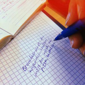 Piratensendung: Poetry Slamer/In Dominik Muheim und Sarah Altenaichinger im Gespräch
