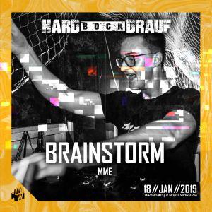 Brainstorm @Hard Bock Drauf pres. SEFA - THW Frankfurt 18.01.2019